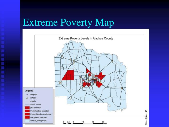 Extreme Poverty Map