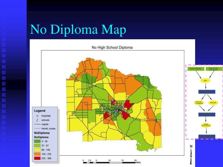 No Diploma Map