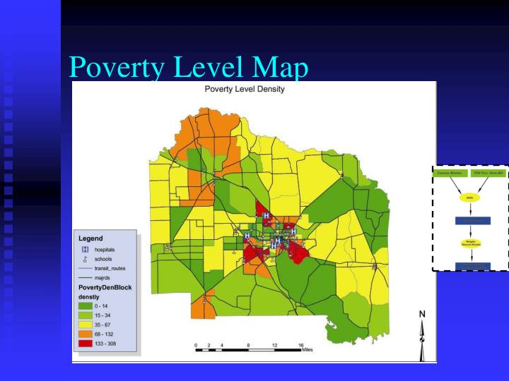 Poverty Level Map