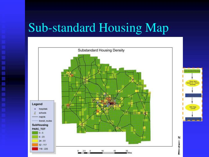 Sub-standard Housing Map