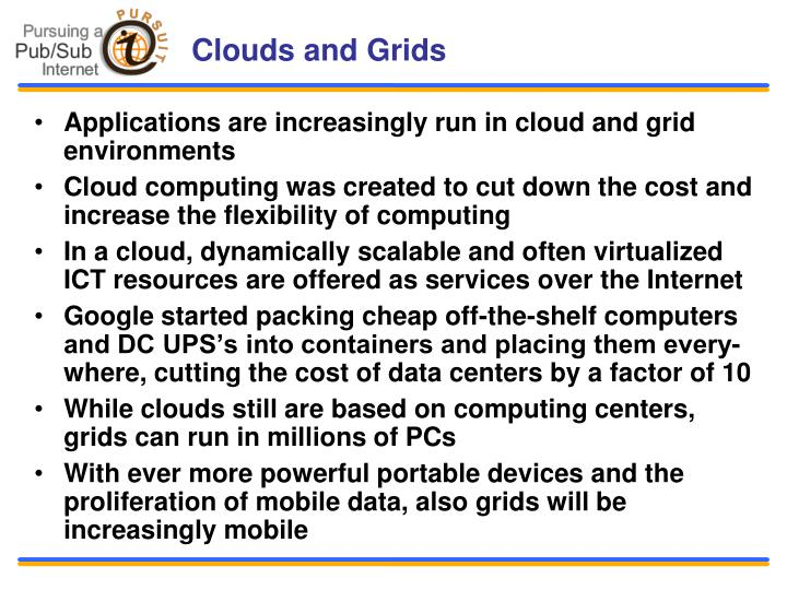 Clouds and Grids