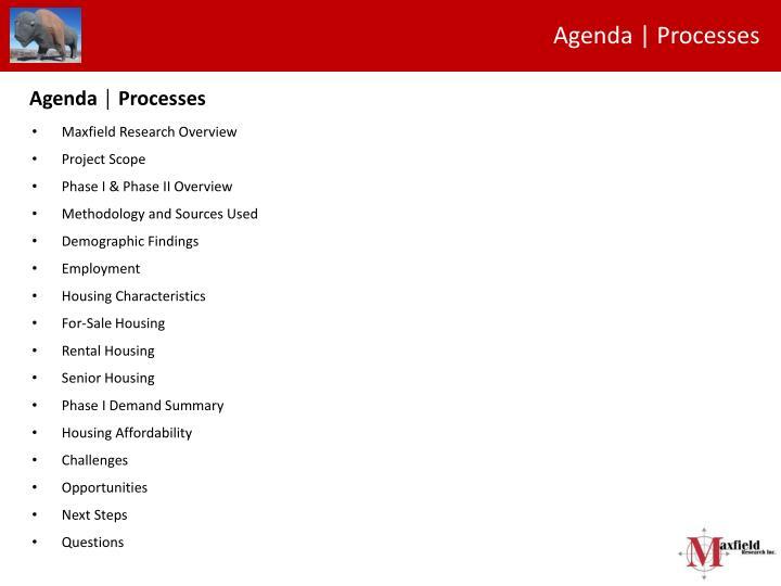 Agenda | Processes