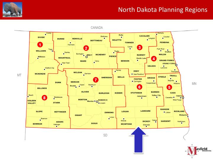 North Dakota Planning Regions