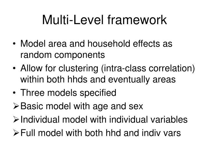 Multi-Level framework
