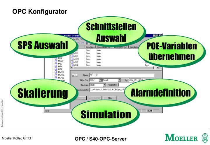 OPC Konfigurator