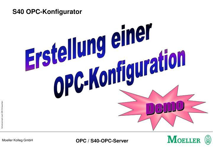 S40 OPC-Konfigurator