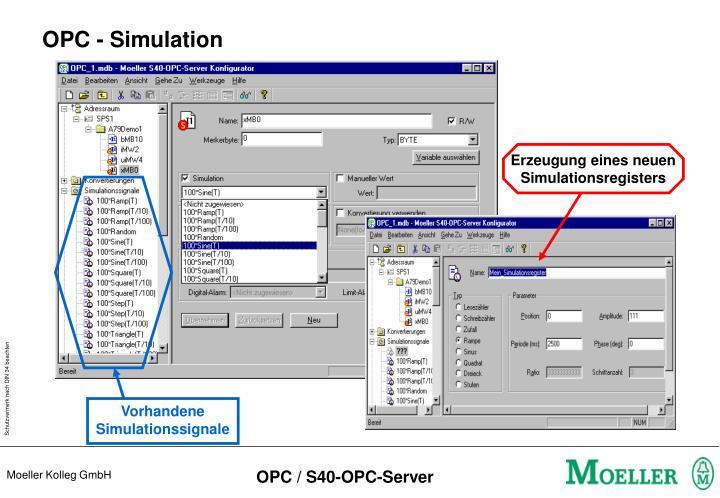 OPC - Simulation