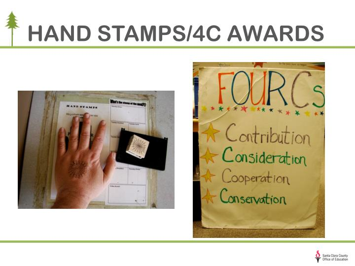 HAND STAMPS/4C AWARDS