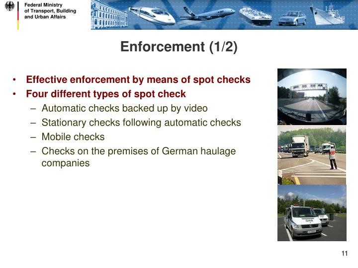 Enforcement (1/2)