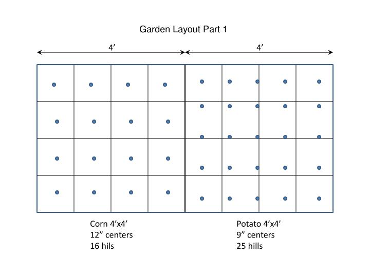 Garden Layout Part 1