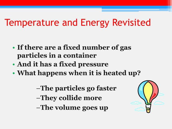 Temperature and Energy Revisited