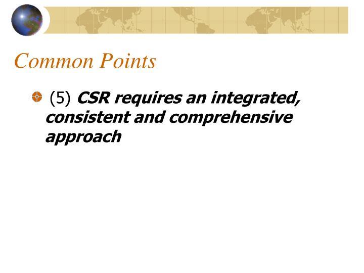 Common Points
