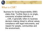 what is csr1