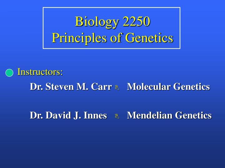 Biology 2250