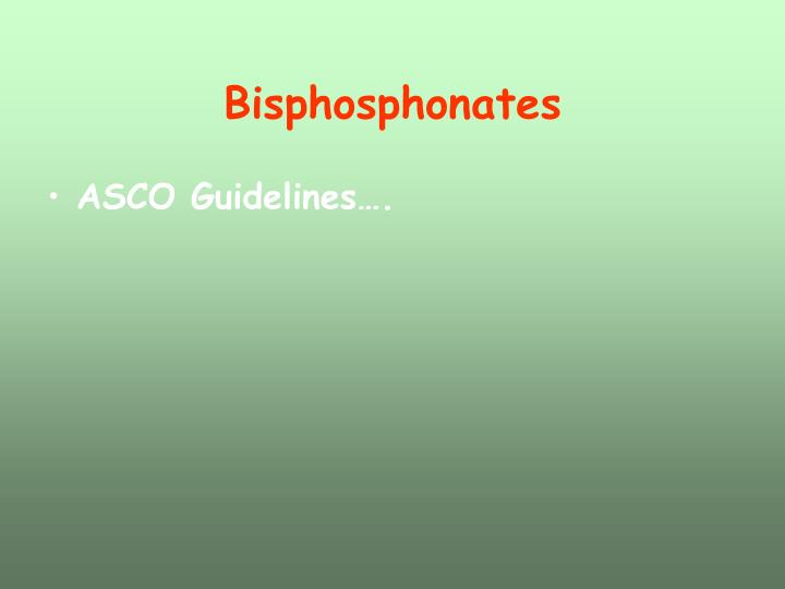Bisphosphonates