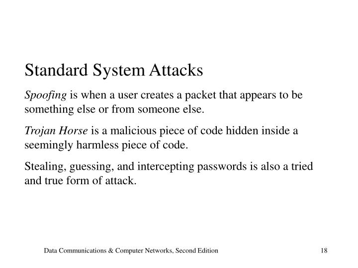 Standard System Attacks