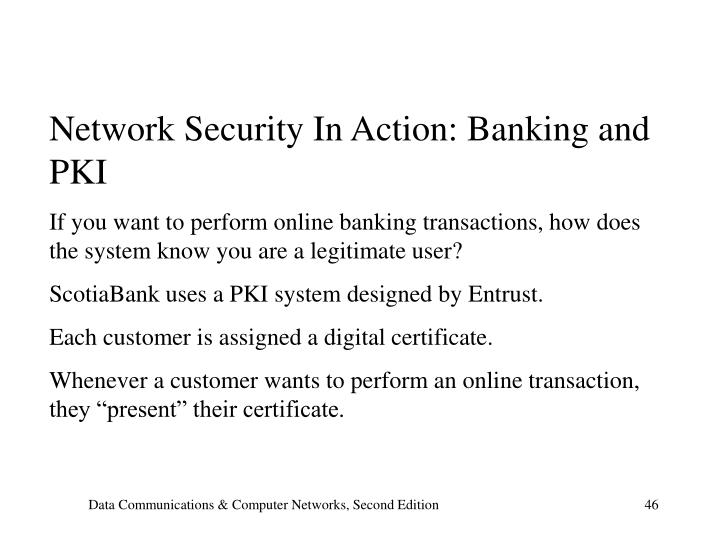 Network Security In Action: Banking and PKI