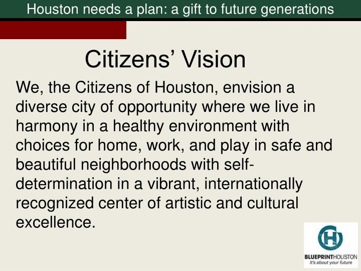 Citizens' Vision