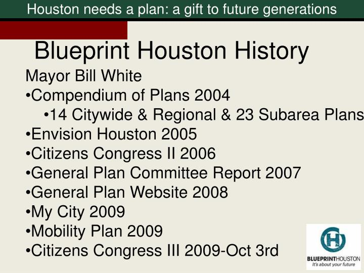 Houston needs a plan: a gift to future generations
