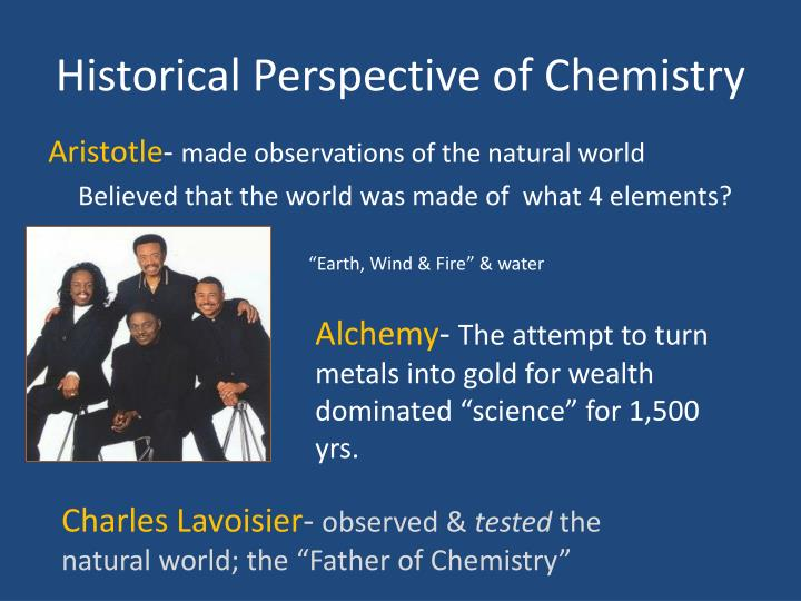 an introduction to the history of chemistry a comparison of alchemy and chemistry From alchemical recipes and other rules of thumb to modern chemistry  a  modern convention that helps put chemical history in perspective  when the  difference in the reactivities of the two metals is large, a dangerous explosion  may occur  poor rule-of-thumb which is unfortunatly still taught ar the  introductory level.