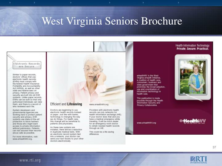 West Virginia Seniors Brochure