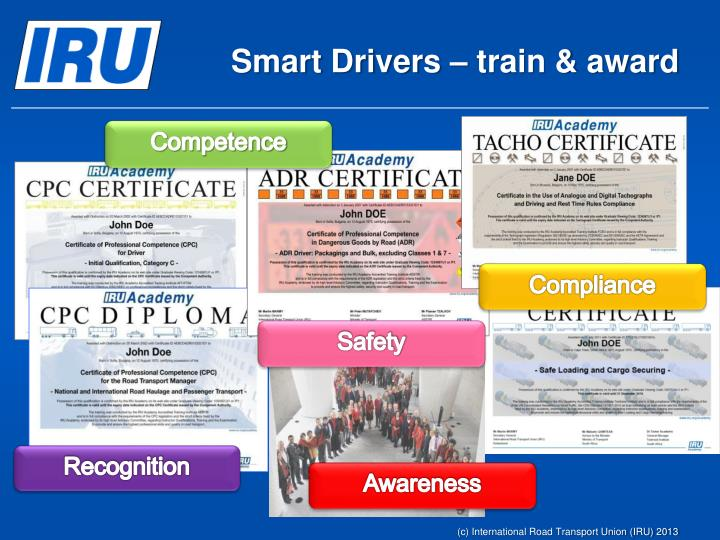 Smart Drivers – train & award