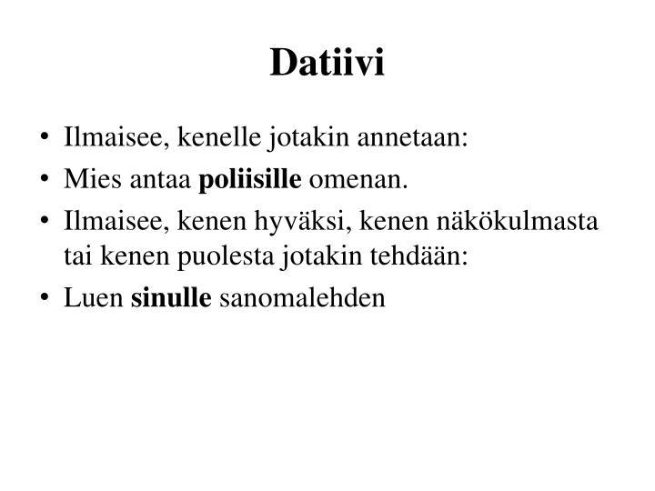Datiivi