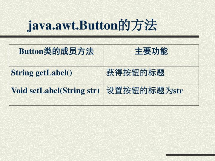 java.awt.Button