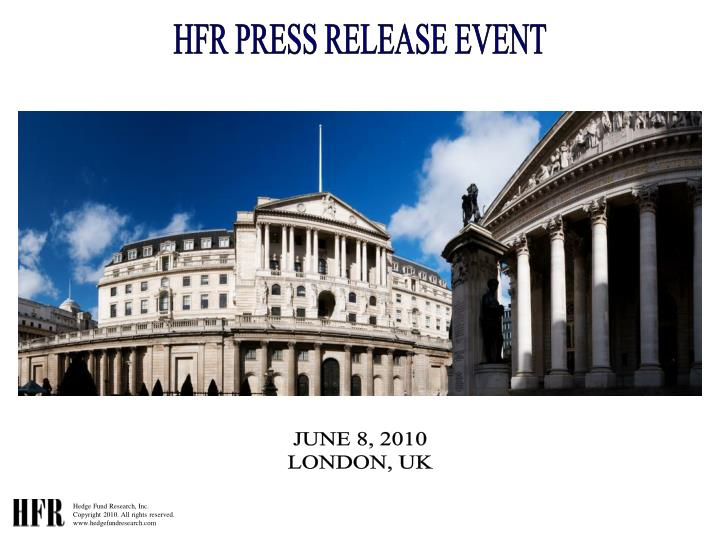HFR PRESS RELEASE EVENT
