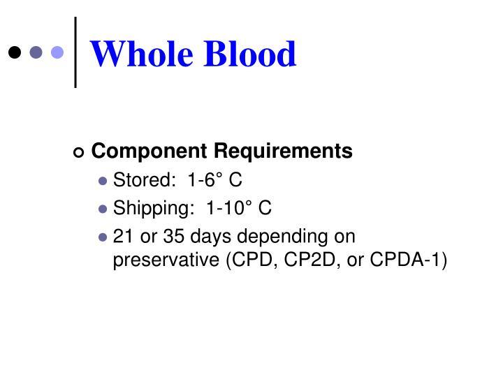 Whole Blood