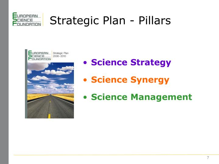 Strategic Plan - Pillars