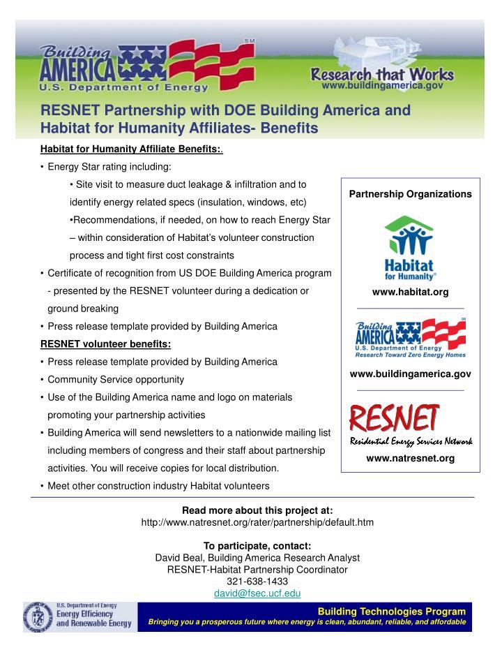 Partnership Organizations
