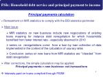 fsis household debt service and principal payment to income2