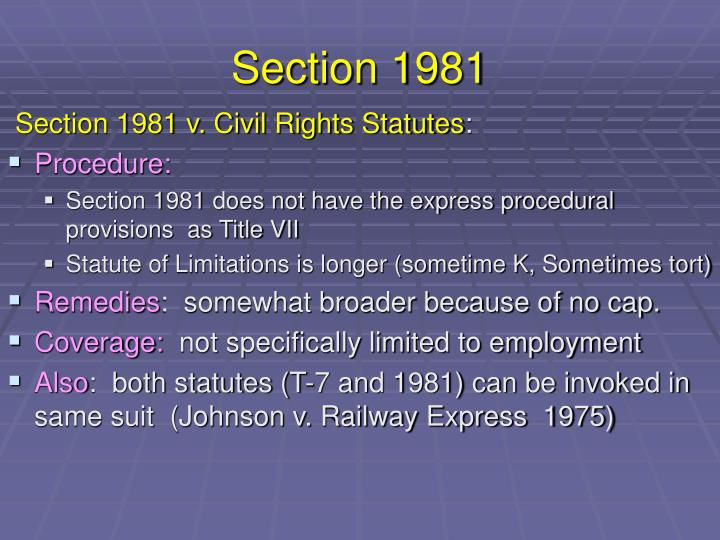 Section 1981