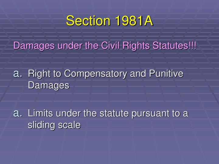 Section 1981A
