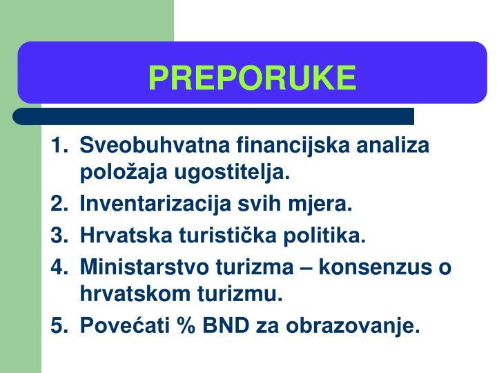 PREPORUKE