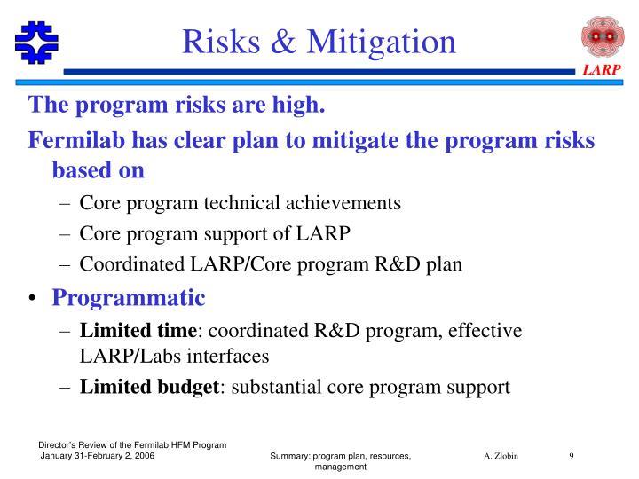 Risks & Mitigation