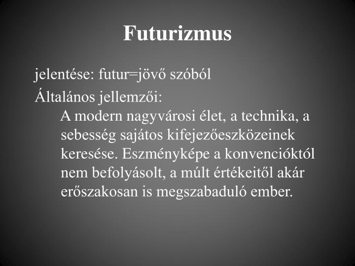 Futurizmus