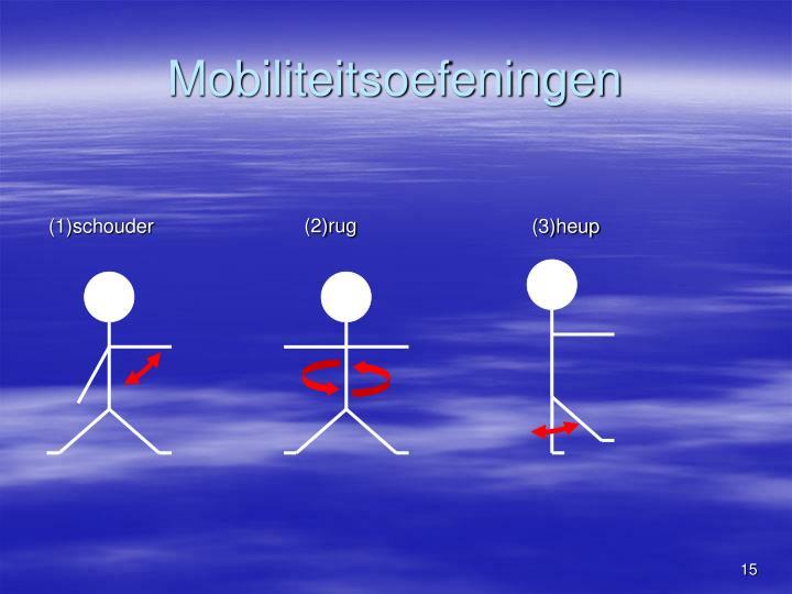Mobiliteitsoefeningen