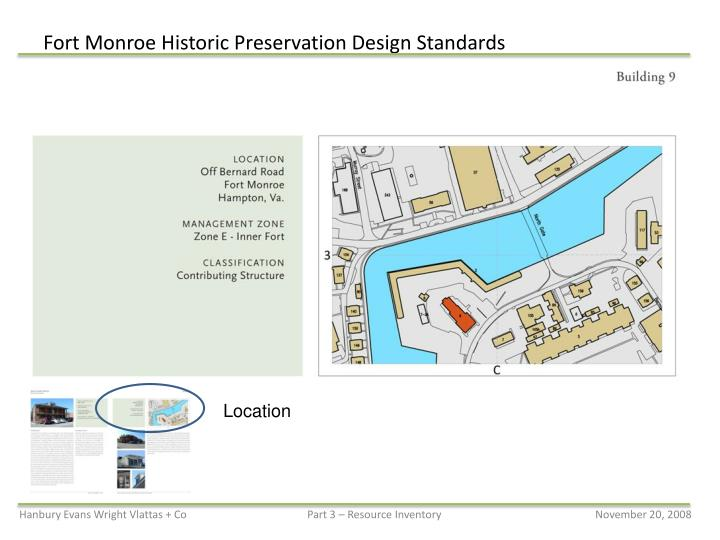 Fort Monroe Historic Preservation Design Standards