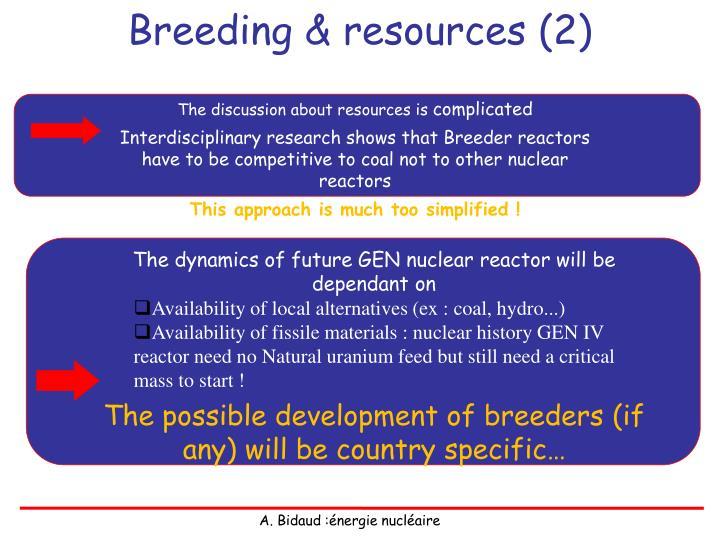 Breeding & resources (2)