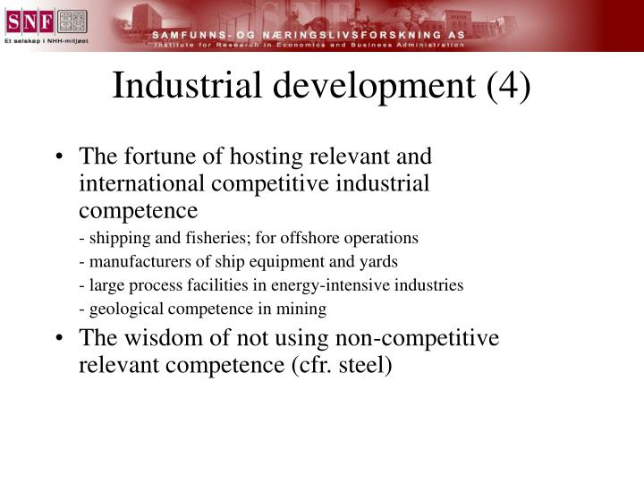 Industrial development (4)