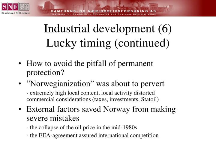 Industrial development (6)