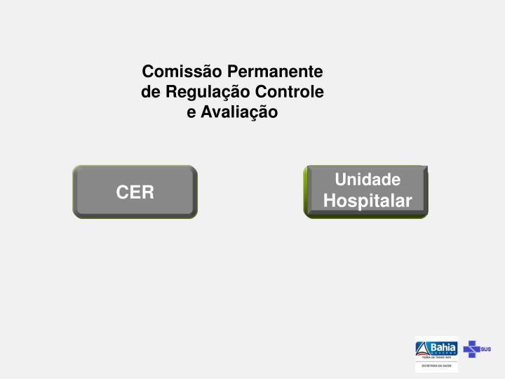 Comissão Permanente de Regulação Controle e Avaliação