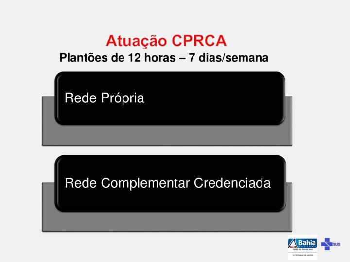 Atuação CPRCA