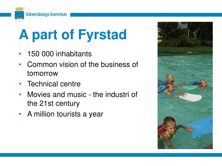 A part of Fyrstad