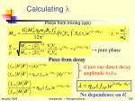 calculating l