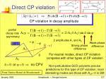 direct cp violation1