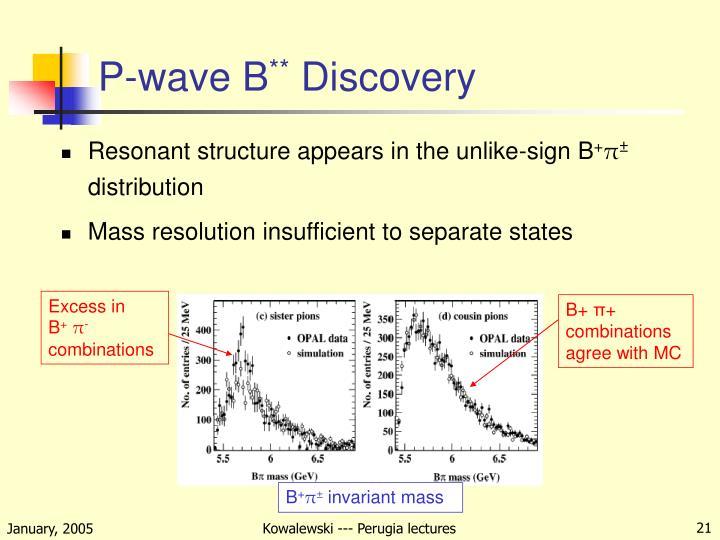 P-wave B