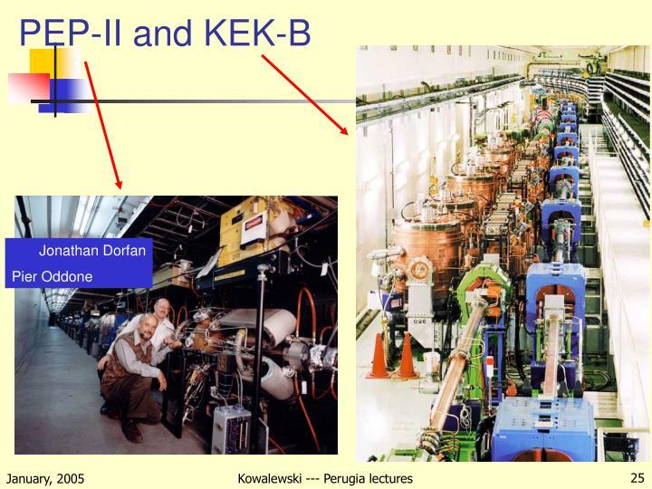 PEP-II and KEK-B